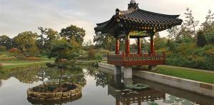 Grand Blottereau paysage et jardin coréen